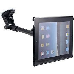 Arkon Rigid Windshield Suction Mount with 14.5 - 18.5 Extension for iPad2 / New iPad 3
