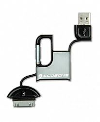 Scosche clipSYNC Charge & Sync Cable for iPod and iPhone