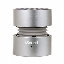 iSound Fire Rechargeable Portable Speaker - Silver