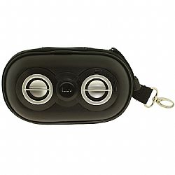 iLuv Portable Speaker Case - Black