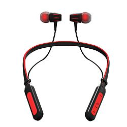 Jarv Wave Sport Wireless Bluetooth Neckband Headset, Red