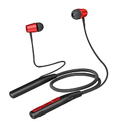 Jarv Wave Flex Wireless Neckband Bluetooth Headset, Red