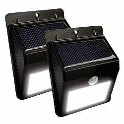 Solar Powered Outdoor Wireless Motion Sensing LED Light- 2pack