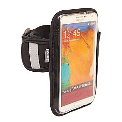 Jarv High Quality Armband for Samsung Galaxy S6, S5, S4 / Note 4, 3 and Edge Mobile Smartphone w/ Water Resistant Neoprene Sports Gym Jogging Exercise Strap (Revised Version)