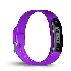 Jarv Active Track Step Tracker Fitness/Activity Band - Purple