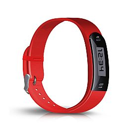 Jarv Active Track Step Tracker Fitness/Activity Band - Red