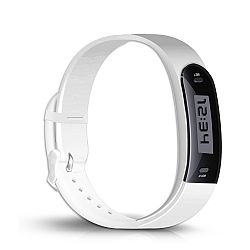 Jarv Active Track Step Tracker Fitness/Activity Band - White