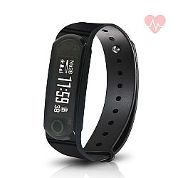 Jarv Elite HR Heart Rate + Fitness Tracker with Sleep and Wrist-based Heart Rate Monitor, Hi-Res OLED Display, Bluetooth Wireless Sync and 10 Day Battery