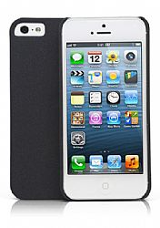 Jarv Sandstone Snap-on case for iPhone 5, Black