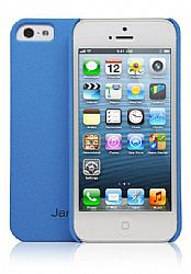 Jarv Sandstone Snap-on case for iPhone 5, Light Blue