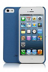 Jarv Sandstone Snap-on case for iPhone 5, Blue