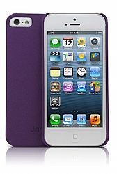 Jarv Sandstone Snap-on case for iPhone 5, Purple
