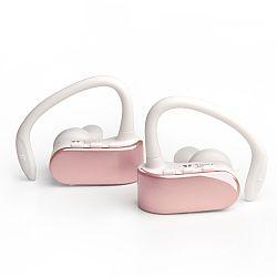 Jarv NMotion Free True Wireless Bluetooth Sport Earbuds- Rose Gold
