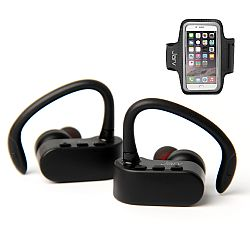 Jarv NMotion Free True Wireless Bluetooth Sport Earbuds with Universal Sports Armband