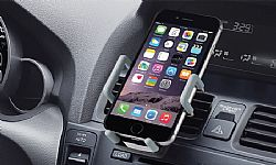 Digital Universal Smartphone Air Vent Mount for Smartphones - Gray