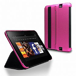 Marware MicroShell Folio Case for New Kindle Fire HD 7 inch (Pink)