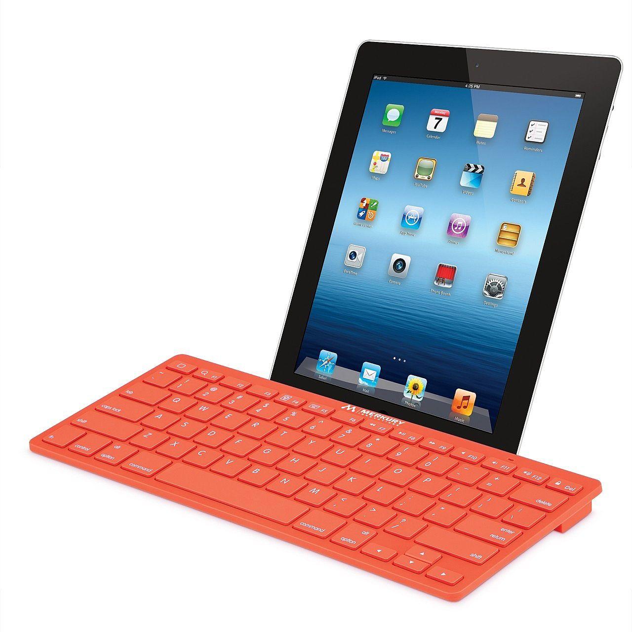 merkury wireless bluetooth keyboard orange at. Black Bedroom Furniture Sets. Home Design Ideas