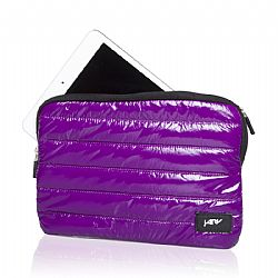 Jarv Universal Kindle Fire/Ipad Mini Down Jacket Tablet Case/Pouch, Purple