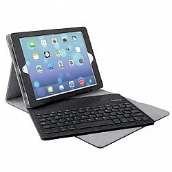 Merkury Tactile Keyboard Case for iPad Air - Black/Charcoal