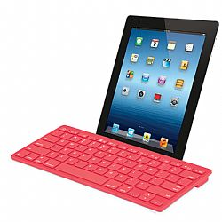 Merkury Wireless Bluetooth Keyboard - Red