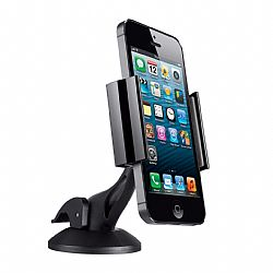 Merkury Universal Windshield& Dash Car Mount for Smartphone - Black