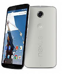Motorola Nexus 6 White 32GB (3G 850MHz AT&T) Unlocked Import