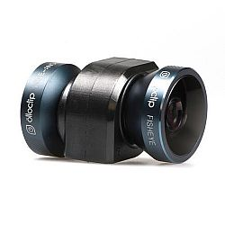 Olloclip iPhone 5/5s 4-IN-1 lens system: Fisheye, Wide-Angle, 10x Macro and 15x Macro - Black