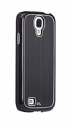 Case-Mate Barely There Brushed Aluminum Sleek Case for Galaxy S4 - Black