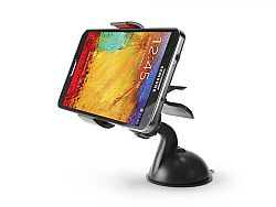 Cellet Dashboard/Windshield Car Mount Holder for Smartphones Up to 3.8inches Wide - Black