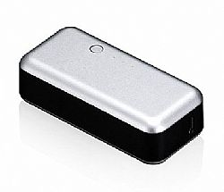 Just Mobile Gum 2200mAh Li-Ion Backup Battery for iPhone / iPad - Silver
