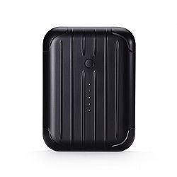 Just Mobile Gum++� Portable USB Backup Battery - Black (6000 mAh)