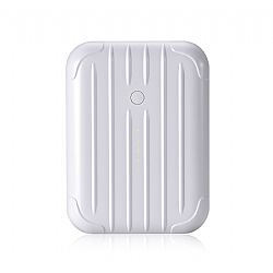 Just Mobile Gum++™ Portable USB Backup Battery - White (6000 mAh)
