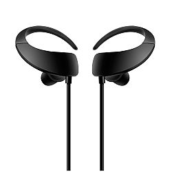 RevJams Moda Sports Premium Sport Wireless Earbuds, Black
