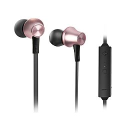 RevJams PLAY Wireless Bluetooth 4.2 Stereo Earbuds , Rose Gold