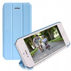 RevJams FlipBack Smart Case/Cover with Stand for iPhone 5C-Blue