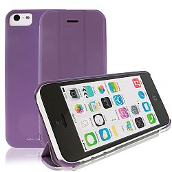 RevJams FlipBack Smartphone cover/case for IPhone 5C, Purple