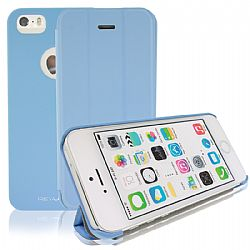 RevJams FlipBack Smart Case/Cover with Stand for iPhone 5S- Blue