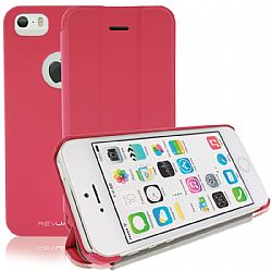 RevJams FlipBack Smart Case/Cover with Stand for iPhone 5S- Hot Pink