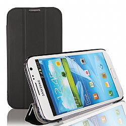 RevJams HG FlipBack Smart Case/Cover with Stand for Samsung Galaxy Note 2, Black/Black