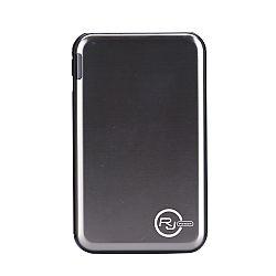 RJ Power 5,000mah Ultra Slim Metallic Portable Power Bank - Silver