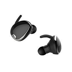 RevJams Studio TWS True Wireless Bluetooth Sport Stereo Earbuds- Black