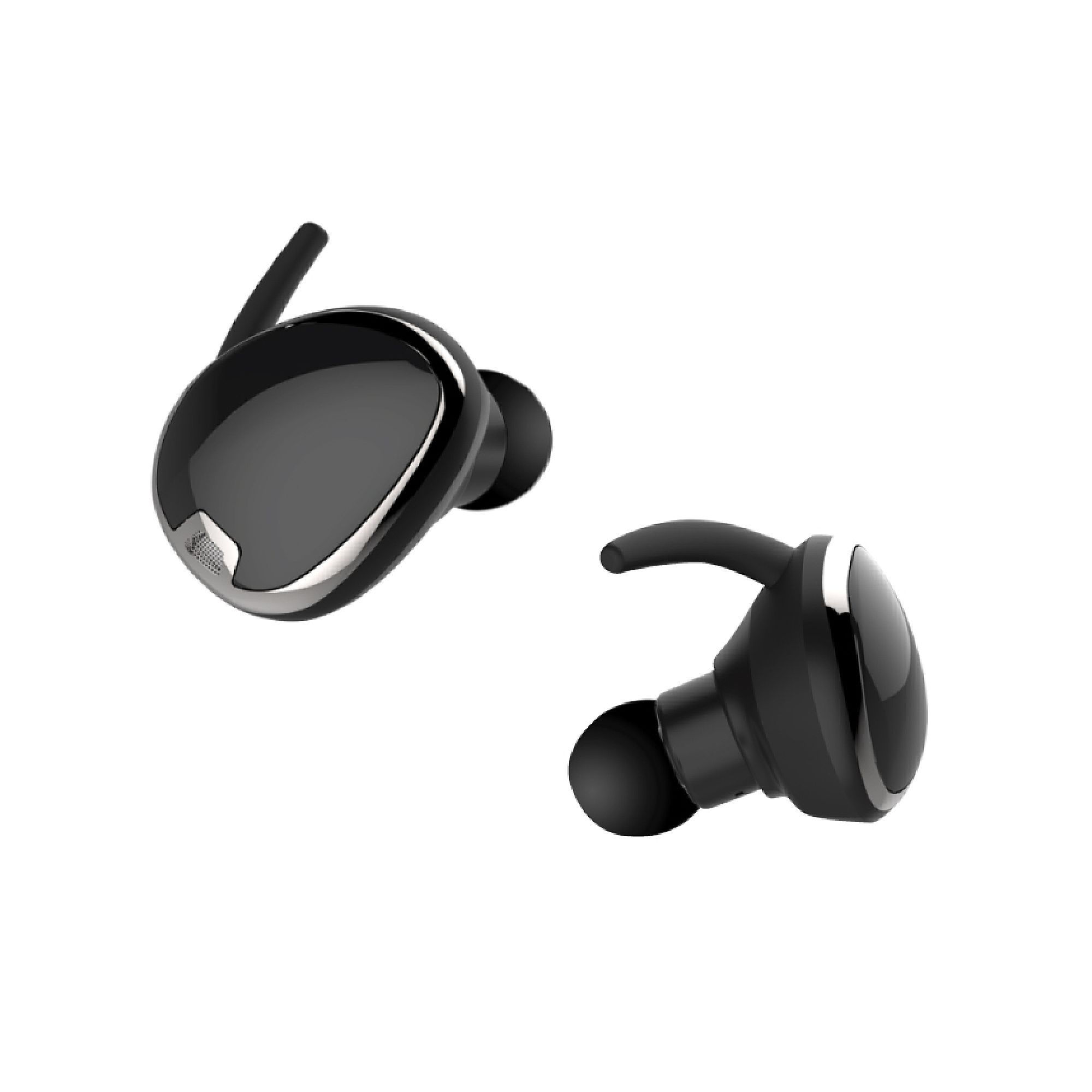 a1dd26f93a8 RevJams Studio TWS True Wireless Bluetooth Sport Stereo Earbuds- Black at  MobileCityOnline.com