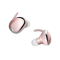 RevJams Studio TWS True Wireless Bluetooth Sport Stereo Earbuds- Rose Gold