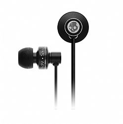 Skullcandy Full Metal Jacket In-Ear Headset with Mic (Black)