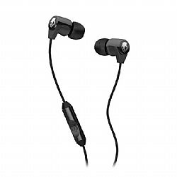 Skullcandy Riff Stereo Ear Bud w/ Mic - Black