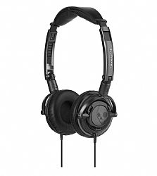 Skullcandy Lowrider On-Ear Headset with Mic (Black/Black)