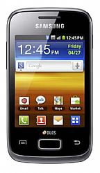 Samsung Galaxy Y Duos S6102B (3G 850MHz AT&T) Black Unlocked Import OPEN BOX