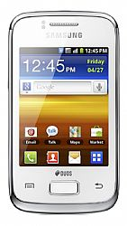 Samsung Galaxy Y Duos S6102 White Unlocked Import