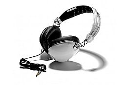 Skullcandy Aviator On-Ear Headphones with Mic (White)