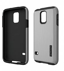 Incipio Technologies DualPro SHINE for Samsung Galaxy S5 - Silver/Black